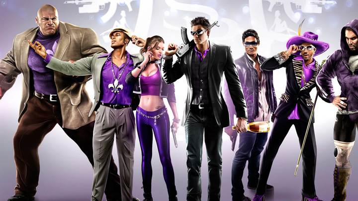 Saints Row The Third All Characters