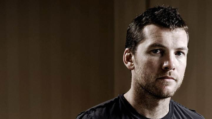 Sam Worthington Looking Front Face Closeup