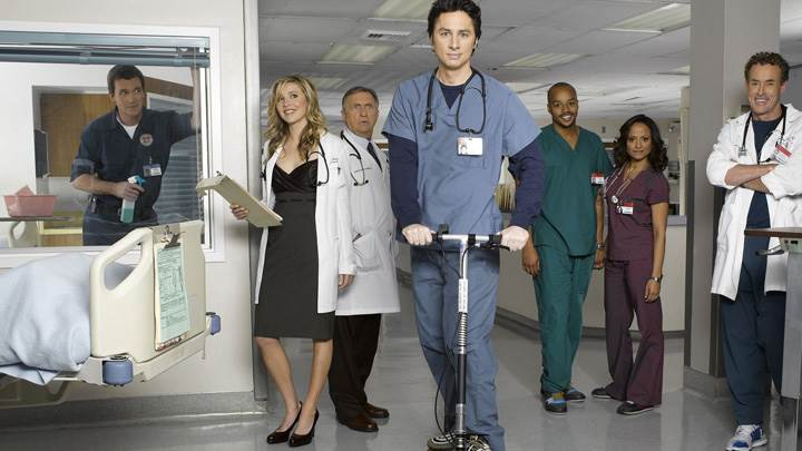 Scrubs – Zach Braff In Hospital