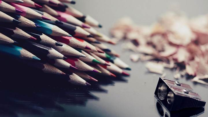 Sharpened Pencils Photoshoot