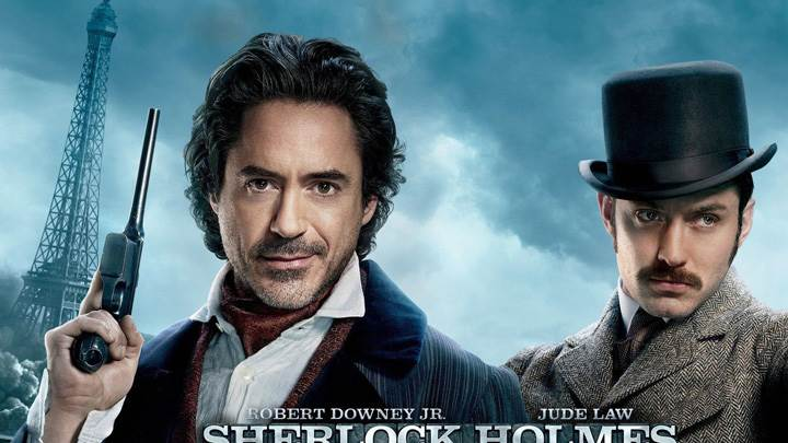 Sherlock Holmes A Game Of Shadows Face Closeups