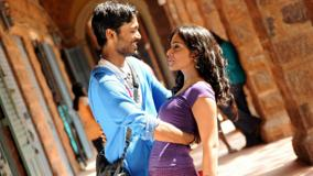 Shriya Saran N Dhanush Hugging Photoshoot In Kutty Movie