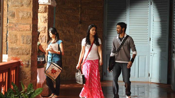Shriya Saran N Dhanush In College Photoshoot In Kutty Movie