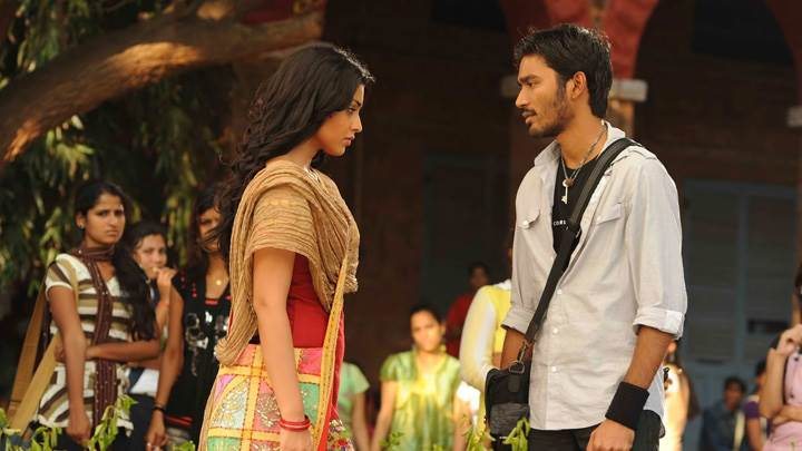 Shriya Saran N Dhanush In Tamil Kollywood Kutty Movie