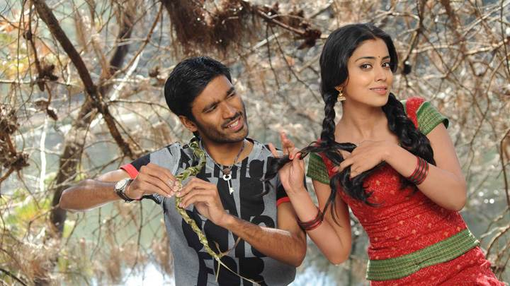 Shriya Saran N Dhanush Photoshoot In Kutty Movie