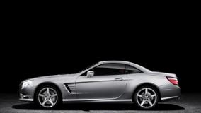 Side Pose Of 2013 Mercedes-Benz SL In Silver