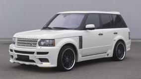 Side Pose Of Hamann Range Rover 5.0i V8 Supercharged In White