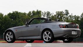 Side Pose Of Honda S2000 2009 In Grey