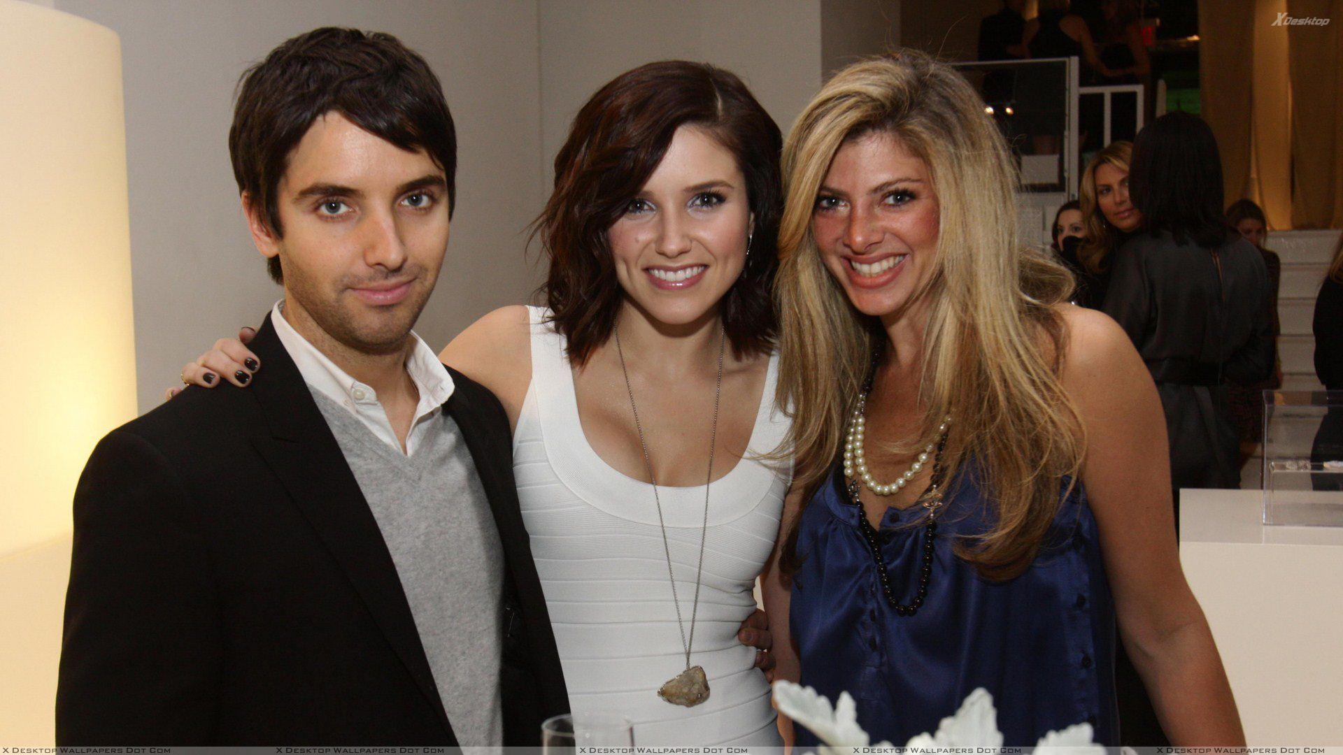 Smiling Sophia Bush Launch Party For Kimberlys New Fine Jewelry