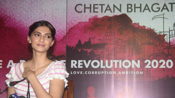 Sonam Kapoor Launches Revolutions 2020 Book