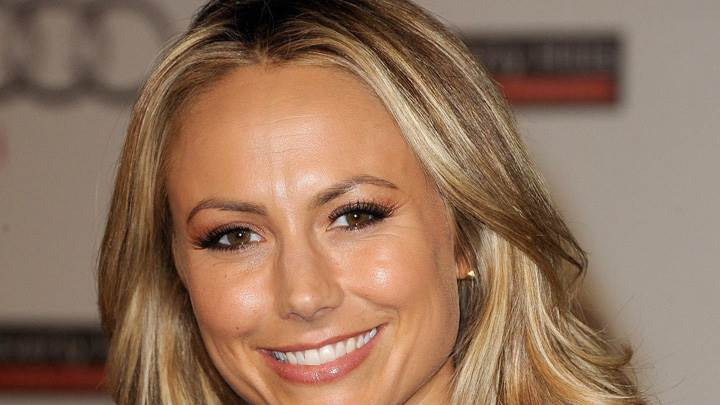 Stacy Keibler Smiling Face Closeup At Grand Opening Of Audi