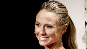 Stacy Keibler Smiling Face Closeup At Style Event In Beverly Hills