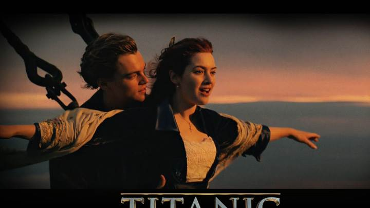 Titanic 3D – Leonardo Dicaprio And Kate Winslet On Deck