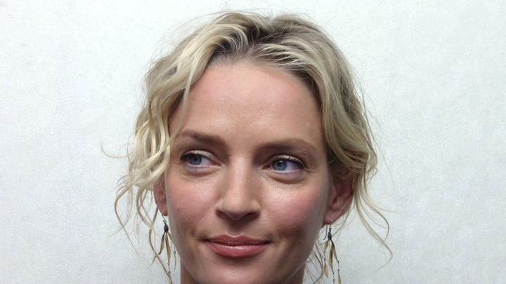 Uma Thurman Innocent Face Closeup