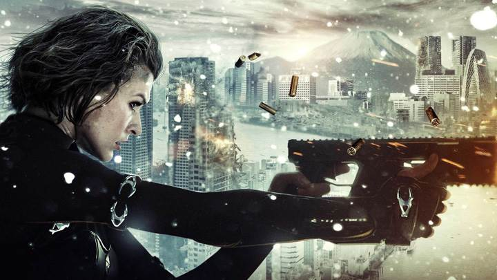 Underworld- Evolution – Kate Beckinsale Firing The Gun