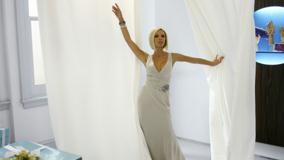 Victoria Beckham In White Long Dress Photoshoot
