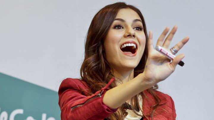 Victoria Justice Open Mouth Photoshoot
