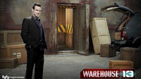 Warehouse 13 – Eddie Mcclintock In Store Room