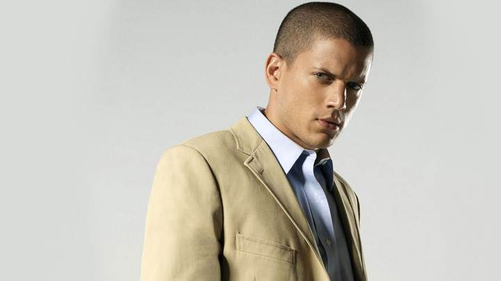Wentworth Miller Looking At Camera Angry Face Photoshoot