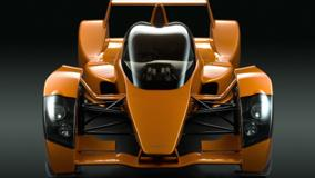 World's Fastest Supercar Caparo T1 Front Pose