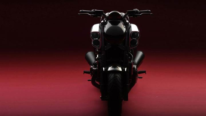 Yamaha Vmax In Black Color