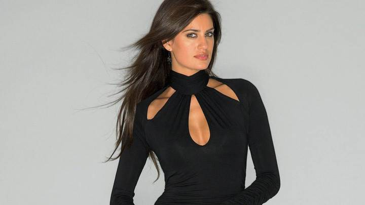 Yamila Diaz In Black Dress Photoshoot