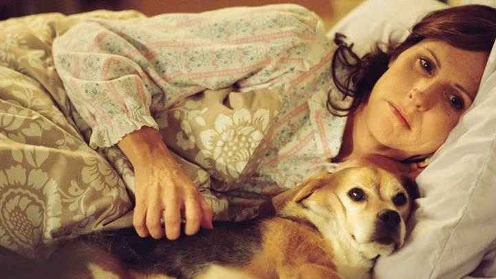Year Of The Dog – Molly Shannon Laying With Dog