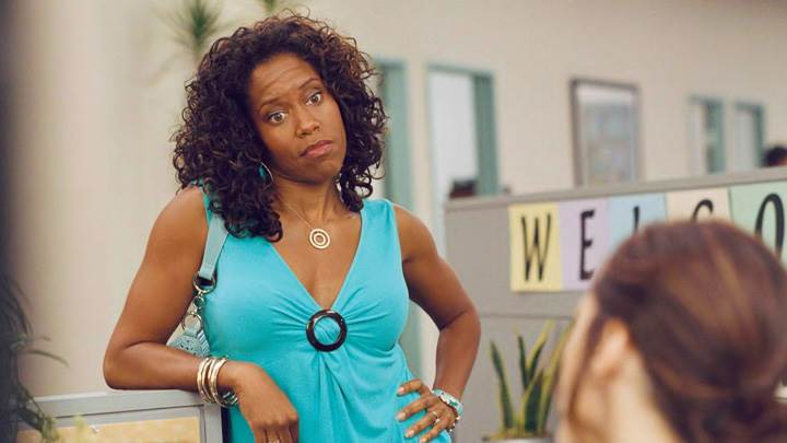 Year Of The Dog – Regina King In Green Dress