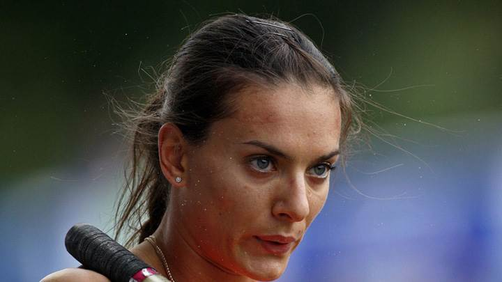 Yelena Isinbayeva Looking And Thinking Photoshoot