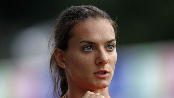 Yelena Isinbayeva Playing Tenis Photoshoot