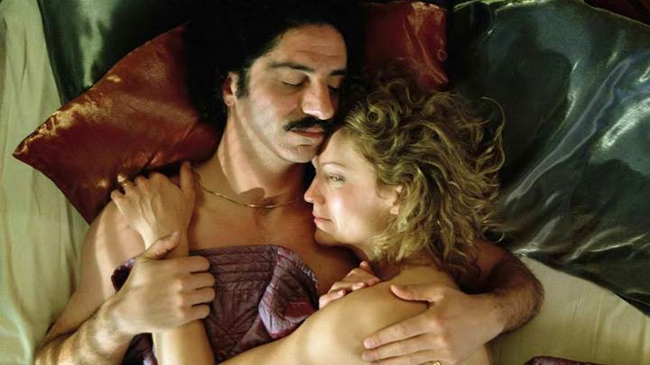 Yes – Joan Allen And Simon Abkarian Laying On Bed