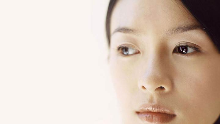 Zhang Ziyi Innocent Cute Face Closeup