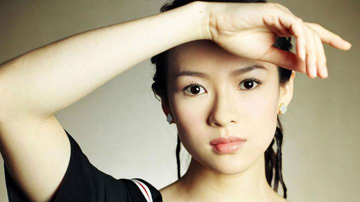 Zhang Ziyi Looking At Camera Face Photoshoot