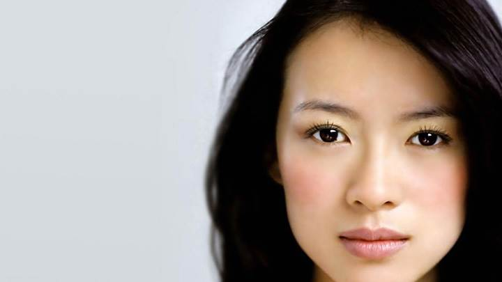 Zhang Ziyi Looking At Camera Sad Face Closeup