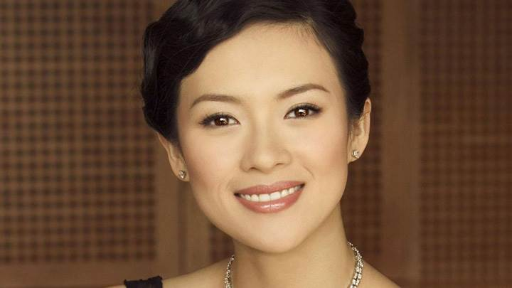 Zhang Ziyi Smiling Cute Face Photoshoot