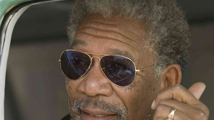 10 Items or Less – Morgan Freeman Face Closeup