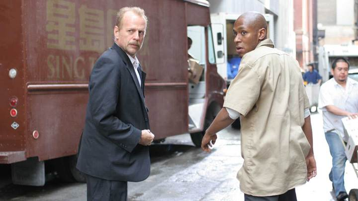 16 Blocks – Bruce Willis and Mos Def Looking Back