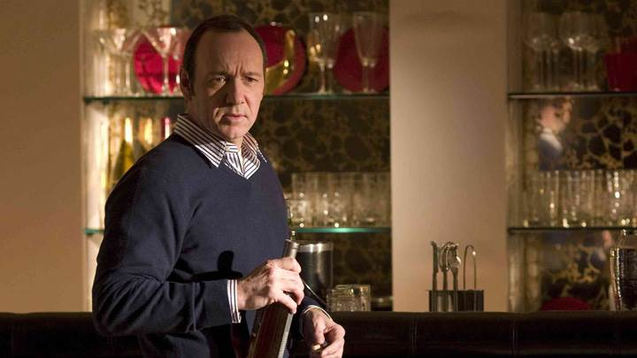 21 – Kevin Spacey Wine Bottle In Hand