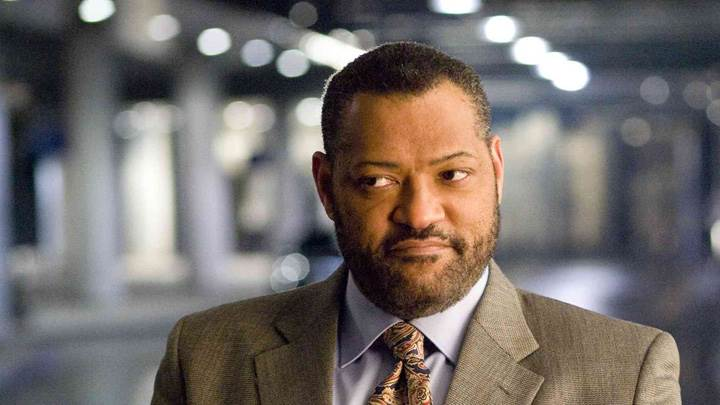 21 – Laurence Fishburne In Coat