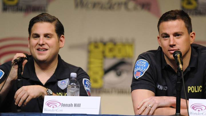 21 Jump Street – Channing Tatum With Jonah Hill On Stage