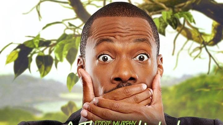 A Thousand Words – Eddie Murphy Hand On Mouth