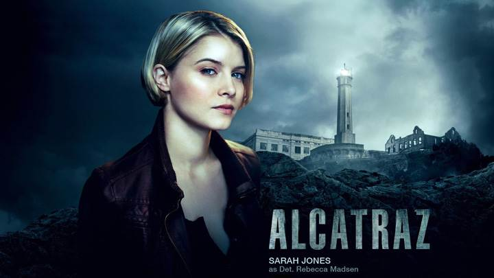 Alcatraz – Sarah Jones As Detective Rebecca Madsen