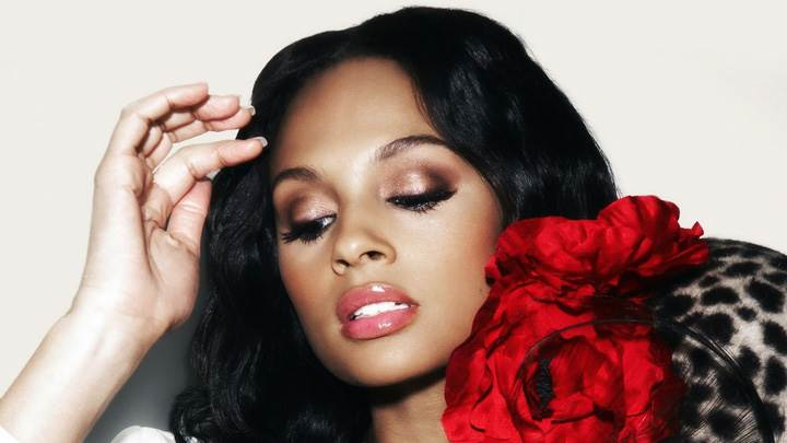 Alesha Dixon In Pink Lips