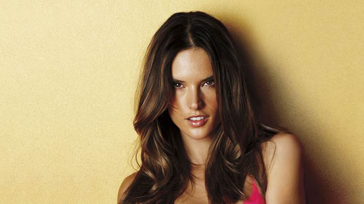 Alessandra Ambrosio At Victoria's Secret Collection