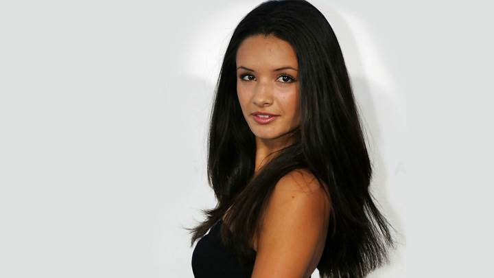Alice Greczyn Smiling Looking At Camera Side Pose Photoshoot
