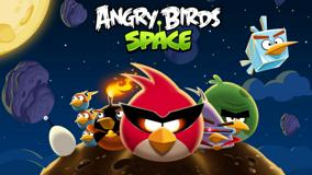 Angry Birds Space – Artistic Background