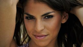 Antonella Barba Ultra Smiling Face Closeup