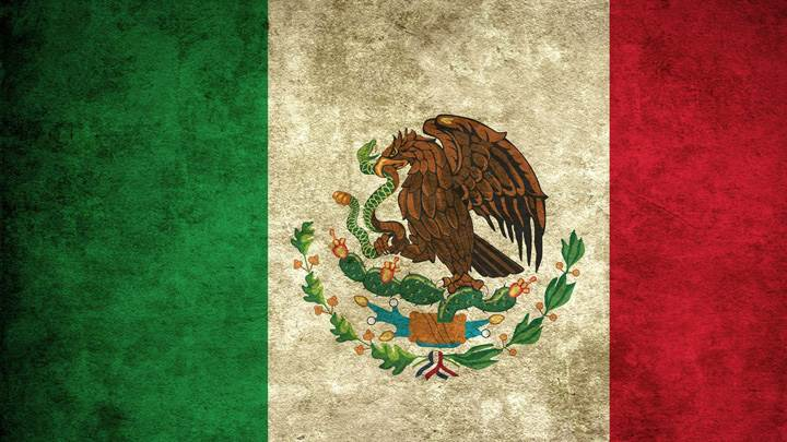 Artistic Mexico Flag