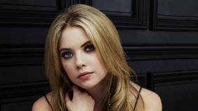 Ashley Benson Looking At Camera Thinking Somthing Face Photoshoot