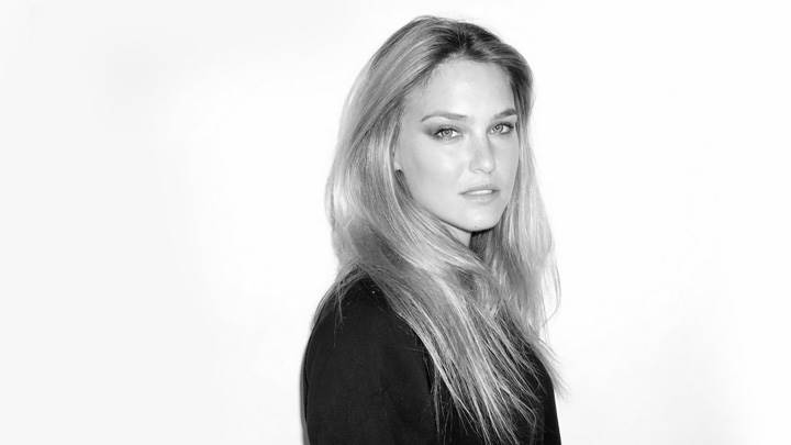 Bar Refaeli Black N White Side Photo
